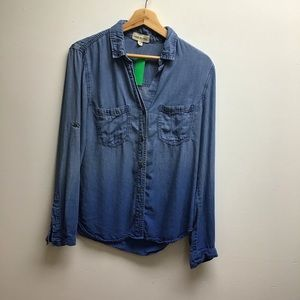 Anthropologie Cloth & Stone Button up